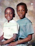 Me & my brother Darren, 1975, Sears, Mount Vernon, NY, July 6, 2006. (Donald Earl Collins).