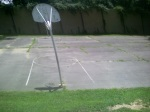 Basketball courts, Forest Glen Park, July 30, 2010 (Donald Earl Collins)