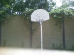 Basketball hoop and backboard at Forest Glen Park, July 30, 2010 (Donald Earl Collins)