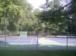 The tennis courts next to the basketball courts at Sligo Dennis Ave Park, September 23, 2010 (Donald Earl Collins)