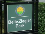 Belle Ziegler Park Sign, Takoma Park, MD, September 17, 2010 (Donald Earl Collins)