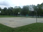 The basketball courts at Meadowbrook Park, Chevy Chase, MD, September 17, 2010 (Donald Earl Collins)