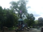Part of renovated playground, Montgomery Hills Park, September 17, 2010 (Donald Earl Collins)
