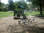 Another part of the playground renovation, Montgomery Hills Park, September 17, 2010 (Donald Earl Collins)