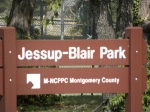 Jessup-Blair Park Sign, Silver Spring-Washington DC border, September 25, 2010 (Donald Earl Collins)