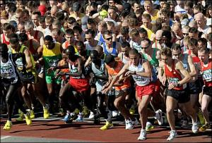 2009 London Marathon. Source: http://www.newsoftheworld.co.uk/