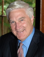 Former U.S. Representative Tom McMillen, a Rhodes Scholar, NBA player, and alumnus of the University of Maryland, 2008. BGervais. Creator has granted permision for free use via Creative Commons.