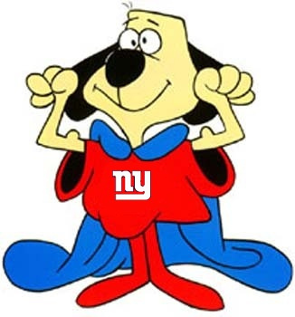 New York Giants as underdogs, January 26, 2012. (BlasBlasB via http://Flickr.com). In public domain.