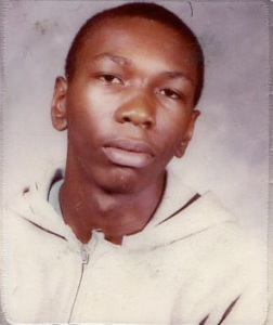 Me at 16, Mount Vernon High School ID, Mount Vernon, New York, November 1985, March 21, 2012. (Donald Earl Collins).