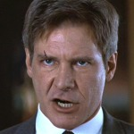 Harrison Ford as Jack Ryan in Clear and Present Danger (1994), May 5, 2012. (http://ugo.com). Qualifies as fair use under US copyright laws due to subject of post.