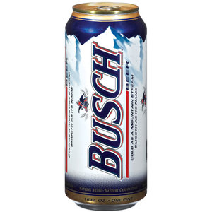 """16-ounce """"Pounder"""" can of Busch Beer, November 19, 2012. (http://price2watch.com)"""