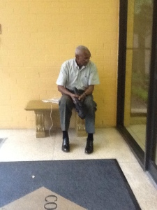 My father, Silver Spring, MD, September 8, 2012. (Noah M. Collins).