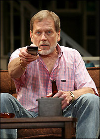 Actor Robert Foxworth on Broadway in August: Osage County, August 2008. (Joan Marcus/Playbill).