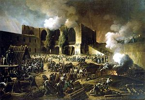 Siege of Burgos (Spain), 1813, by François Joseph Heim. Pic taken December 23, 2012. (1970gemini via Wikipedia). In public domain.
