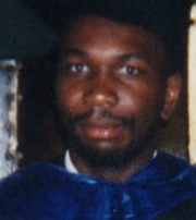 Me really pissed, at CMU PhD graduation, Pittsburgh, PA, May 18, 1997. (Angelia N. Levy).