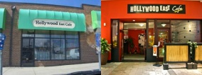 Hollywood East Cafe, circa 2002 and 2012, from hole-in-the-wall to the middle of a mall (how bigger isn't always better), Wheaton, MD, February 20, 2013. (Donald Earl Collins).