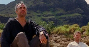 The Man In Black (presumably Esau; played by Titus Welliver) with Jacob (Mark Pellegrino), from TV series Lost (2009-10), February 15, 2013. (http://magiclamp.org).