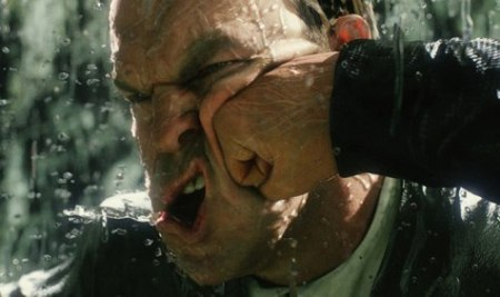 Slow-motion punch frame from Matrix Revolutions (2003), February 15, 2013. (http://theathleticnerd.com/).