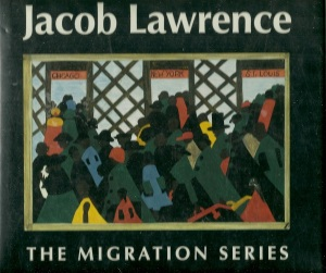 Jacob Lawrence: Migration Series, Phillips Collection, Washington, DC (1993), May 1, 2013. (Elizabeth Hutton Turner; http://ucdavis.libguides.com/).