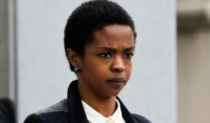 Lauryn Hill in court for one of her sentencing hearings, April 22, 2013 (Eduardo Munoz/Reuters). Qualifies as fair use under US Copyright laws, given subject matter and public hearing.