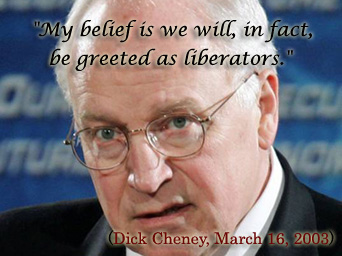 Dick Cheney as an example of Pollyanna Principle, March 16, 2003. (http://www.veteranstoday.com/wp-content/uploads/2011/08/cheney.jpg).