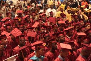 Mount Vernon High School graduation ceremony, June 24, 2009. (http//education.lohudblogs.com).