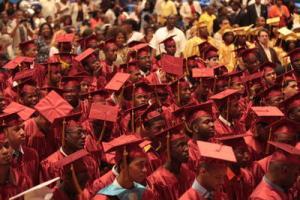 Mount Vernon High School graduation ceremony, June 24, 2009. (http//education.lohudblogs.com).