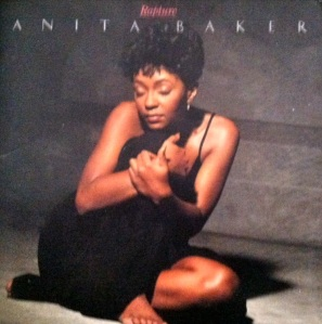 Anita Baker's Rapture (1986) album cover, July 20, 2013. (Donald Earl Collins).