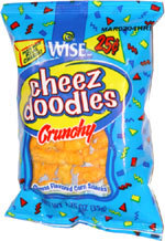 Wise Cheez Doodles, one of my favorites to buy as a teenager, July 12, 2013. (http://twitter.com).