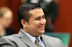 George Zimmerman during jury selection phase of trial, Sanford, FL, June 19, 2013. (Pool photos, Getty Images).