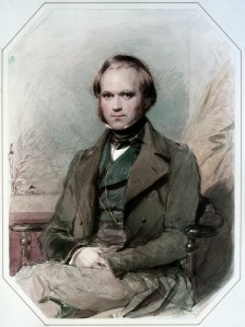 Portrait of Charles Darwin, by George Richmond (circa 1838), October 15, 2012. (Jdcollins13 via Wikipedia). In public domain.