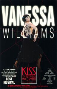 Vanessa Williams in Kiss of the Spider Woman poster, circa 1994. (http://geminibroadway.com).