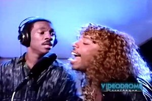 "Eddie Murphy (with Rick James), ""Party All The Time"" (1985) video (screen shot), November 5, 2013. (http://vimeo.com)."