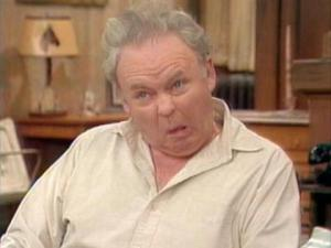 Archie Bunker from All In The Family (1971-78) screen shot, June 2013. (http://www.chicagonow.com/).