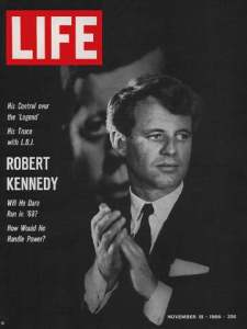 Robert Francis Kennedy, Life Magazine Cover, November 1966. ( )
