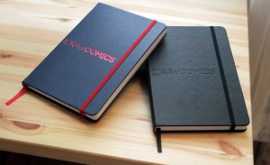 I DRAW COMICS sketchbook, September 2012. (Matt Marrocco via http://www.kickstarter.com).