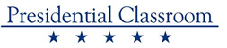 One version of Presidential Classroom logo, January 27, 2014. (http://congressionalaward.org).