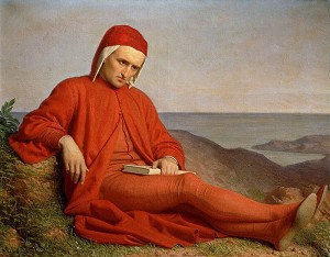 Dante in Exile (n.d.), painting by anonymous, Archivo Iconografico S.A., Itália, June 3, 2006. (Fernando S. Aldado via Wikipedia). In public domain.