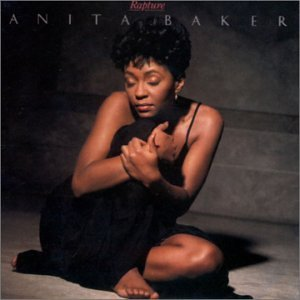 Cover art for Anita Baker's  Rapture (1986) CD, April 25, 2006. (Faustlin via Wikipedia). Qualifies as fair use (low resolution).