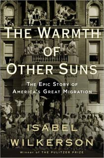 Isabel Wilkerson, The Warmth of Other Suns, front cover (2011), Random House.
