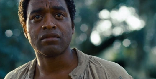 Chiwetel Ejiofor in 12 Years A Slave (2013) screen shot, January 17, 2014. (http://blog.sfgate.com/). Qualifies as fair use under US copyright laws -- it illustrates subject of piece.