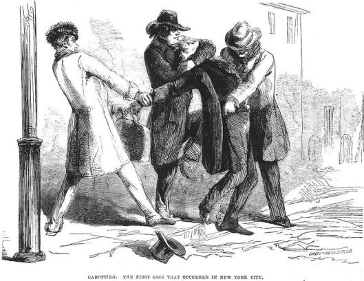 New York mugging, Granger (1857), April 3, 2014. (http://chroniclevitae.com).