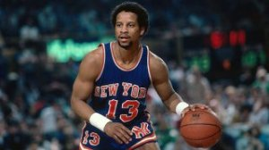 New York Knicks favorite and Mont Vernon great Ray Williams, circa 1983 (died March 23, 2013). (Dick Raphael/NBAE/Getty Images via http://espn.go.com/).