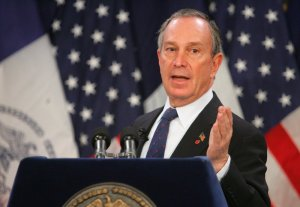 Former New York City Mayor Michael Bloomberg, City Hall, January 27, 2005. (http://themoderatevoice.com).