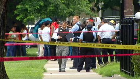 Chicago Police fatally shot a 16-year-old boy in the city's Gresham neighborhood Saturday night and distraught family members are questioning the incident, July 6, 2014. (http://nbcchicago.com).