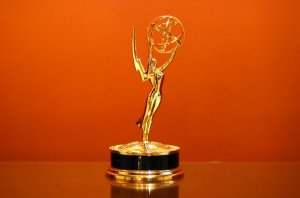 2013 Emmy trophy, January 29, 2014. (http://radiodelta.fm).