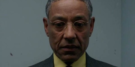 """Gustavo """"Gus"""" Fring, screen shot from Breaking Bad episode, Season 3, August 30, 2014. (http://geeknation.com). Qualifies as fair use under US copyright laws - lower resolution and relevance to subject matter."""