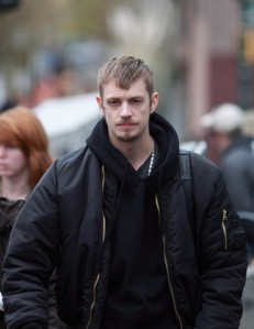 Joel Kinnaman as Det. Stephen Holder in The Killing (2011-14), Vancouver, BC, Canada March 29, 2012. (http://www1.pictures.zimbio.com/). Qualifies as fair use under copyright laws -- relevance to subject matter.