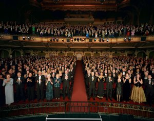 Standing ovation, opera house unknown, May 21, 2012.(http://www.thelmagazine.com).
