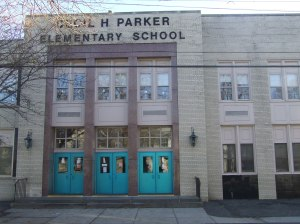 Cecil Parker Elementary School (formerly Nathan Hale ES), Mount Vernon, NY,  November 23, 2006. (Donald Earl Collins).